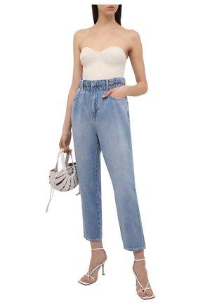 Женские джинсы FRAME DENIM голубого цвета, арт. EWJ207/A   Фото 2