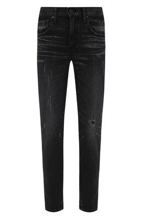 Женские джинсы MOUSSY темно-серого цвета, арт. 025ESC12-1150 | Фото 1