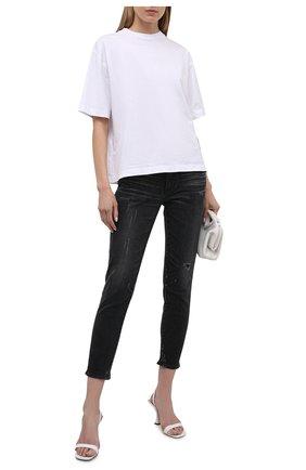 Женские джинсы MOUSSY темно-серого цвета, арт. 025ESC12-1150 | Фото 2