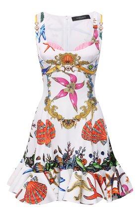 Женское платье из вискозы VERSACE разноцветного цвета, арт. A89189/1F00958 | Фото 1