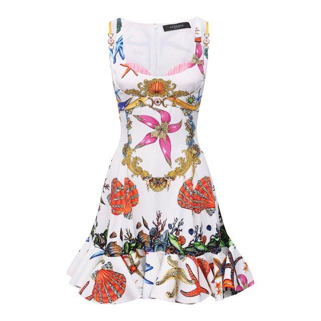 Платье из вискозы Versace