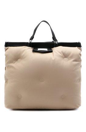 Женский сумка-шопер glam slam large MAISON MARGIELA бежевого цвета, арт. S56WC0122/P4086 | Фото 1
