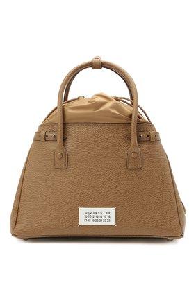 Женская сумка 5ac medium MAISON MARGIELA бежевого цвета, арт. S56WD0125/P0396 | Фото 1