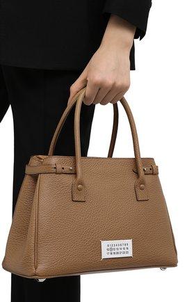 Женская сумка 5ac medium MAISON MARGIELA бежевого цвета, арт. S56WD0125/P0396 | Фото 2