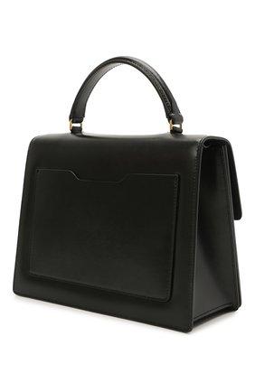 Женская сумка 2.8 jitney OFF-WHITE черного цвета, арт. 0WNP002S21LEA001 | Фото 3 (Сумки-технические: Сумки через плечо, Сумки top-handle; Материал: Натуральная кожа; Ремень/цепочка: На ремешке; Размер: small)