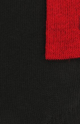Мужские комплект из двух пар носков HUGO черного цвета, арт. 50439588 | Фото 2 (Кросс-КТ: бельё; Материал внешний: Хлопок)