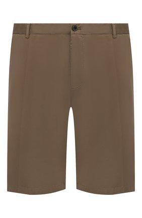 Мужские шорты из хлопка и шелка PAUL&SHARK бежевого цвета, арт. 21414116/FIZ/62-64 | Фото 1