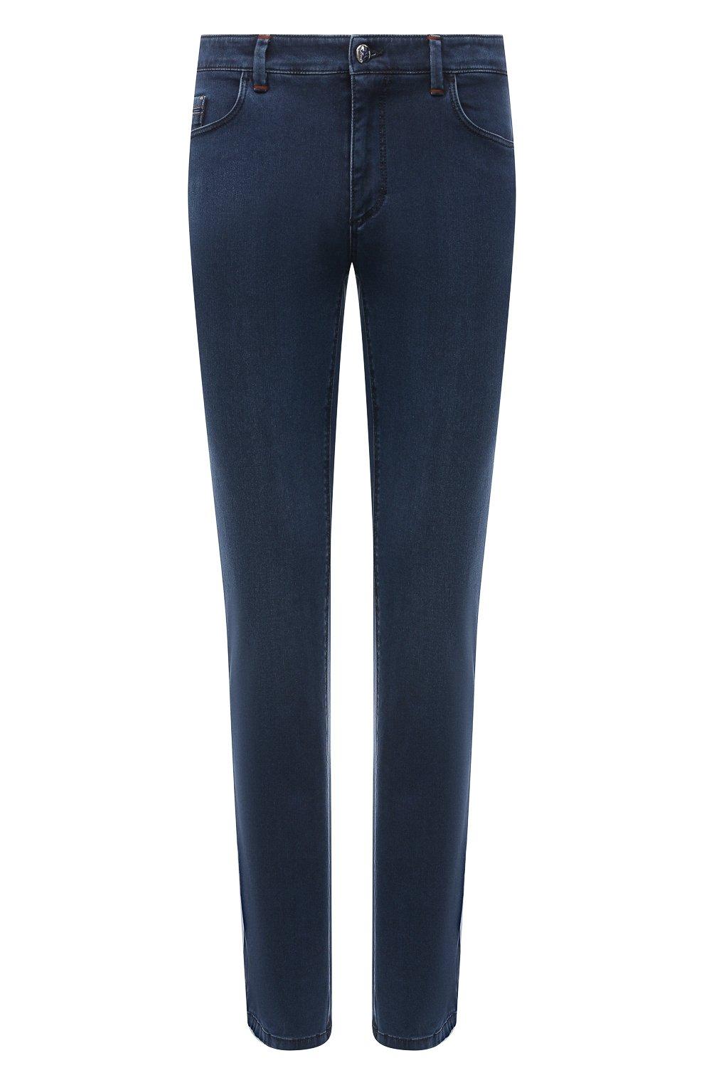 Мужские джинсы ZILLI синего цвета, арт. MCV-00091-DESA1/S001   Фото 1