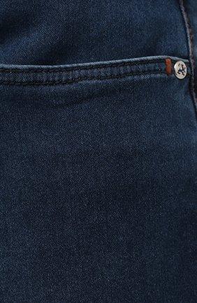 Мужские джинсы ZILLI синего цвета, арт. MCV-00091-DESA1/S001   Фото 5