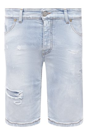 Мужские джинсовые шорты PREMIUM MOOD DENIM SUPERIOR голубого цвета, арт. S21 03527S538/BARRET/S   Фото 1