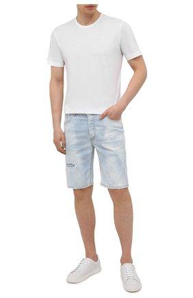 Мужские джинсовые шорты PREMIUM MOOD DENIM SUPERIOR голубого цвета, арт. S21 03527S538/BARRET/S   Фото 2