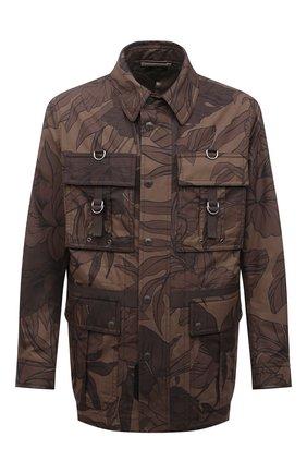 Мужская куртка TOM FORD коричневого цвета, арт. BW099/TF0544 | Фото 1