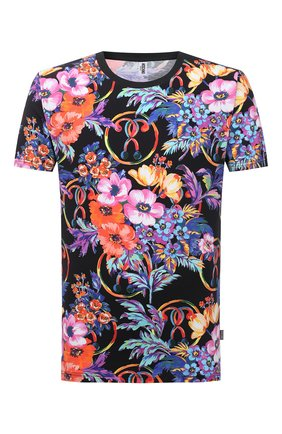 Мужская хлопковая футболка MOSCHINO разноцветного цвета, арт. A1905/2314 | Фото 1