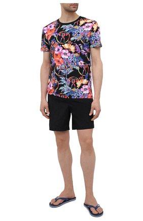 Мужская хлопковая футболка MOSCHINO разноцветного цвета, арт. A1905/2314 | Фото 2