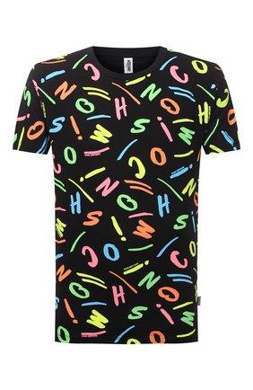 Мужская хлопковая футболка MOSCHINO разноцветного цвета, арт. A1911/2338 | Фото 1
