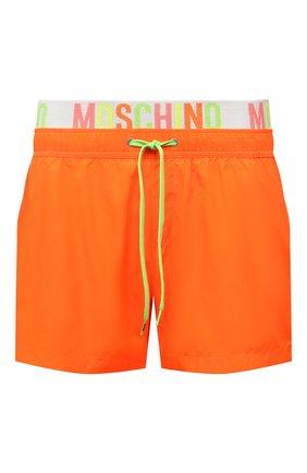 Мужские плавки-шорты MOSCHINO оранжевого цвета, арт. A6109/2302 | Фото 1
