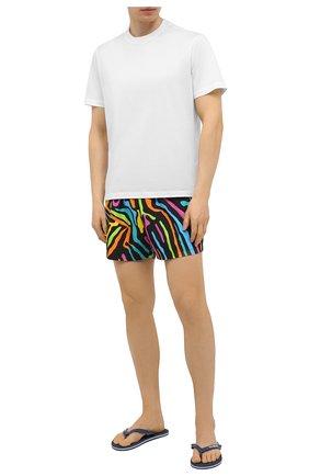Мужские плавки-шорты MOSCHINO разноцветного цвета, арт. A6112/2328 | Фото 2