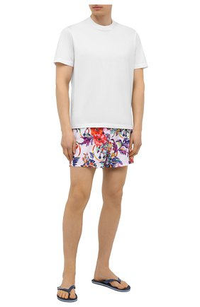 Мужские плавки-шорты MOSCHINO белого цвета, арт. A6139/2308 | Фото 2
