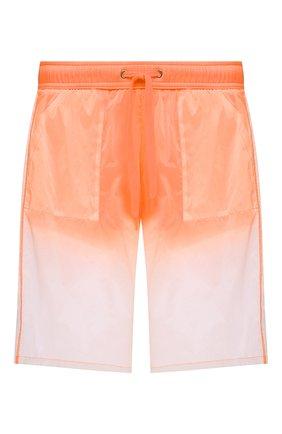 Мужские плавки-шорты MOSCHINO оранжевого цвета, арт. A6164/2313 | Фото 1