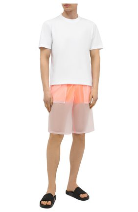 Мужские плавки-шорты MOSCHINO оранжевого цвета, арт. A6164/2313 | Фото 2
