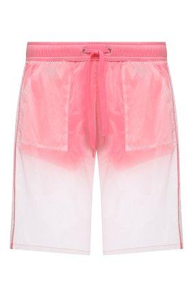 Мужские плавки-шорты MOSCHINO розового цвета, арт. A6164/2313 | Фото 1