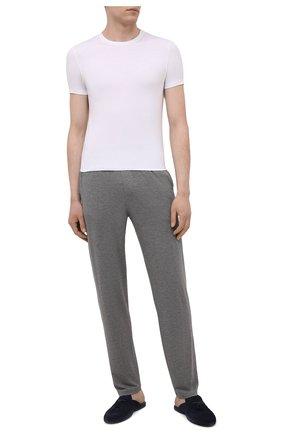 Мужская футболка ERMENEGILDO ZEGNA белого цвета, арт. N2M200060   Фото 2