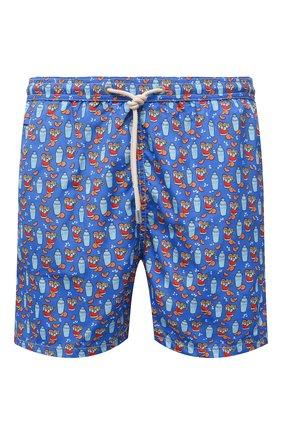 Мужские плавки-шорты MC2 SAINT BARTH синего цвета, арт. STBM LIGHTING MICR0 FANTASY/LIG0003 | Фото 1