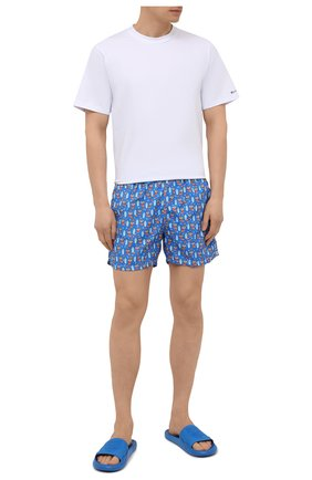 Мужские плавки-шорты MC2 SAINT BARTH синего цвета, арт. STBM LIGHTING MICR0 FANTASY/LIG0003 | Фото 2