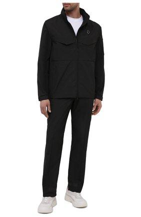 Мужские брюки A-COLD-WALL* черного цвета, арт. ACWMB047 | Фото 2