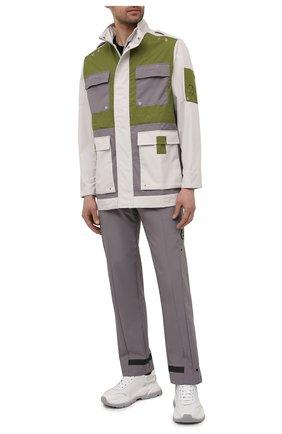 Мужские брюки A-COLD-WALL* серого цвета, арт. ACWMB047 | Фото 2
