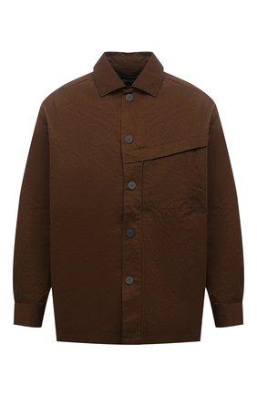 Мужская рубашка A-COLD-WALL* коричневого цвета, арт. ACWMSH027 | Фото 1
