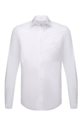 Мужская хлопковая рубашка A-COLD-WALL* белого цвета, арт. ACWMSH030 | Фото 1