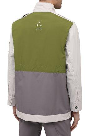 Мужская куртка A-COLD-WALL* разноцветного цвета, арт. ACWM0043   Фото 4 (Кросс-КТ: Куртка, Ветровка; Рукава: Длинные; Длина (верхняя одежда): До середины бедра; Материал внешний: Синтетический материал; Стили: Минимализм)