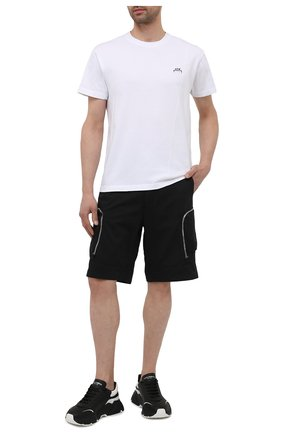 Мужские шорты STONE ISLAND SHADOW PROJECT черного цвета, арт. 7419L0208   Фото 2