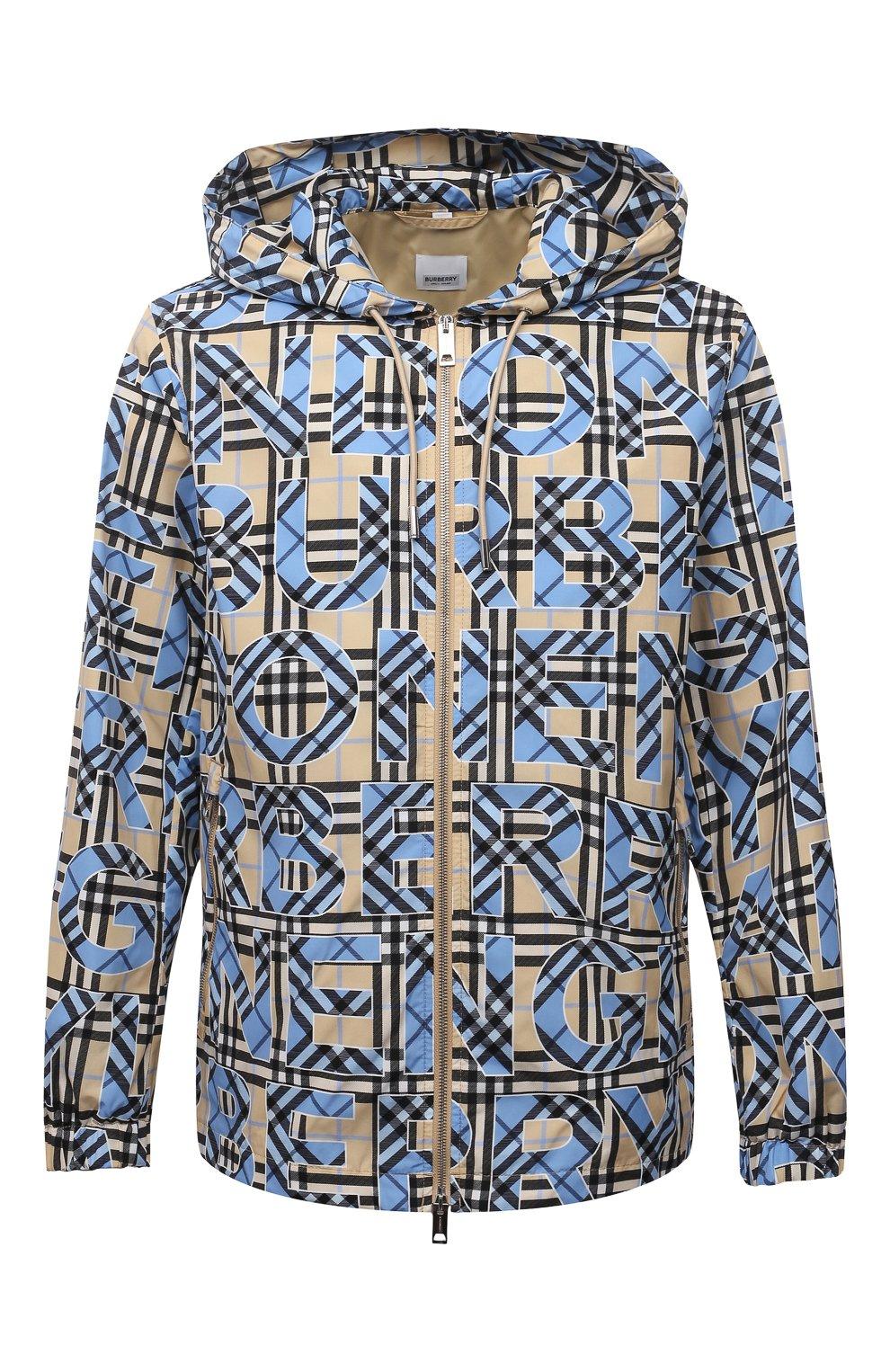 Мужская куртка BURBERRY разноцветного цвета, арт. 8038770   Фото 1