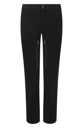 Мужские джинсы GIVENCHY черного цвета, арт. BM50SU50KK | Фото 1
