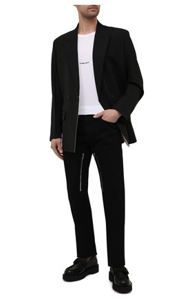 Мужские джинсы GIVENCHY черного цвета, арт. BM50SU50KK | Фото 2