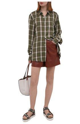 Женские текстильные сандалии CASADEI разноцветного цвета, арт. 1L847S0301PAPEEMTCL | Фото 2