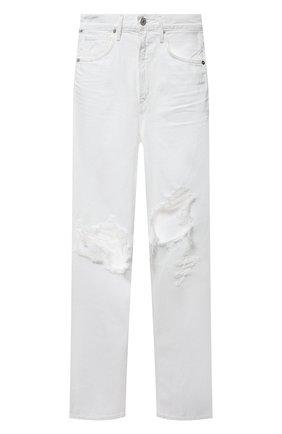 Женские джинсы CITIZENS OF HUMANITY белого цвета, арт. 1854-3006 | Фото 1