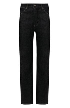 Женские джинсы JIL SANDER синего цвета, арт. JPPS663102-WS246700 | Фото 1 (Материал внешний: Хлопок; Кросс-КТ: Деним; Стили: Кэжуэл; Силуэт Ж (брюки и джинсы): Бойфренды; Длина (брюки, джинсы): Стандартные)