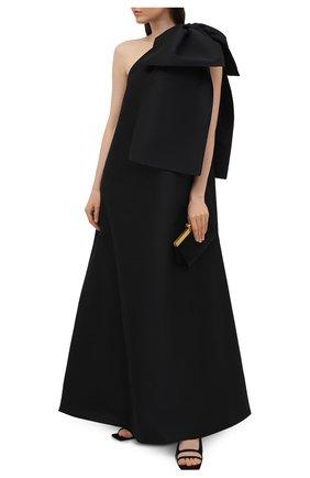 Женское платье BERNADETTE черного цвета, арт. HS20-DRESS-WIN-TAF-2 | Фото 2