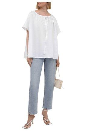 Женская блузка TOTÊME белого цвета, арт. 212-744-720   Фото 2