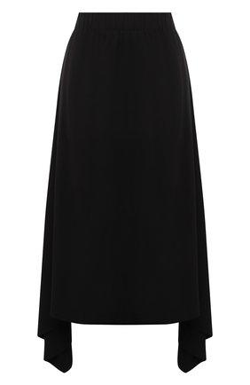 Женская юбка из вискозы 5PREVIEW черного цвета, арт. 5PW21107 | Фото 1