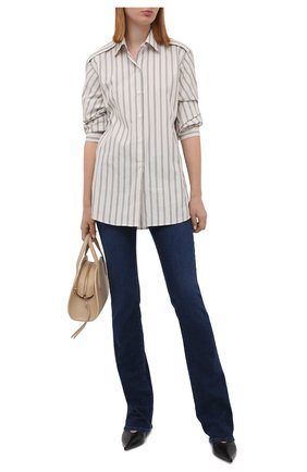 Женские джинсы PAIGE синего цвета, арт. 4108F46-4732 | Фото 2
