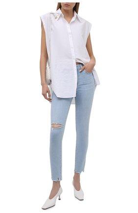 Женские джинсы PAIGE голубого цвета, арт. 3757F46-4851 | Фото 2