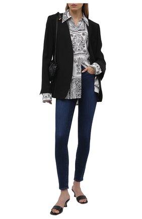 Женские джинсы PAIGE синего цвета, арт. 2098F46-4732 | Фото 2