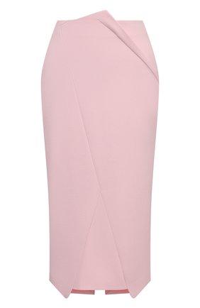 Женская юбка ROLAND MOURET светло-розового цвета, арт. SS21/S2224/F2196 | Фото 1