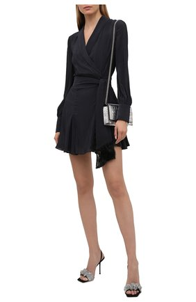 Женское платье GALVAN LONDON черного цвета, арт. CD1089 SUMMER CREPE | Фото 2