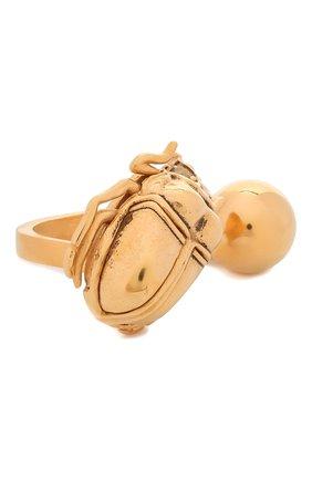 Женское кольцо SAINT LAURENT золотого цвета, арт. 661782/Y1500 | Фото 1