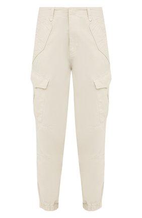 Женские хлопковые брюки RAG&BONE кремвого цвета, арт. WCW21S70003G00 | Фото 1
